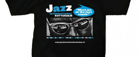 T-shirt Jazz International Rotterdam