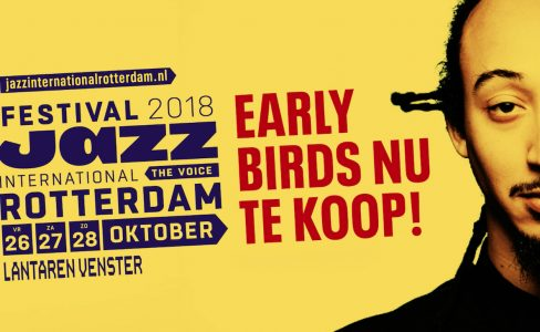 Ticket Sale gestart voor Festival Jazz International Rotterdam 2018